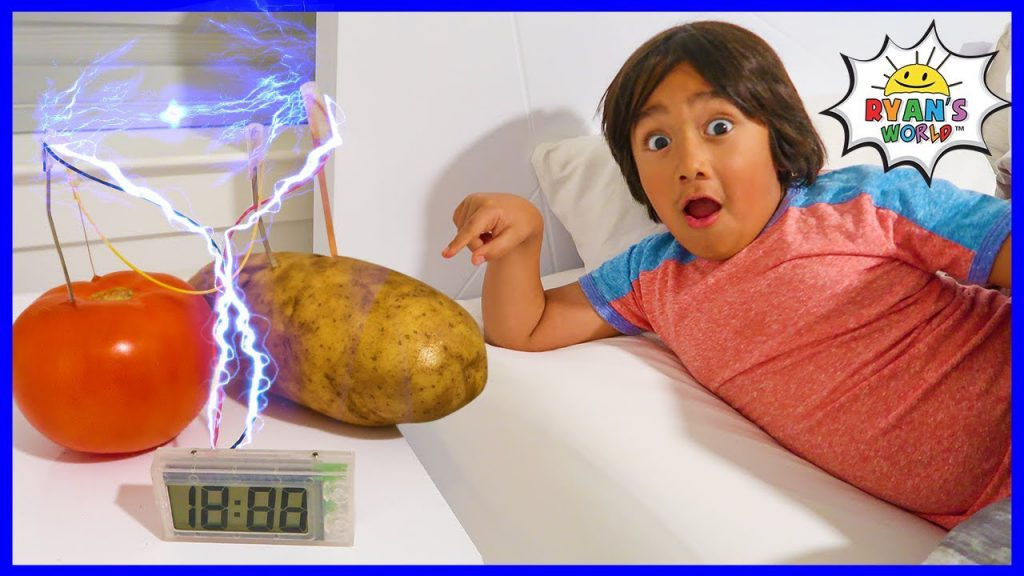 Potato Clock Easy DIY Science Experiment!!! Video Poster